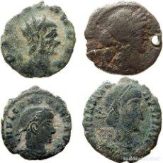 Monedas Imperio Romano: LOTE DE 4 MONEDAS ROMANAS. (1117-M). Lote 148575358