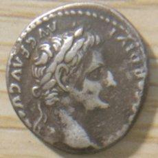 Monedas Imperio Romano: DENARIO PLATA EMPERADOR TIBERIO 14 Y 37 DC. Lote 148790992