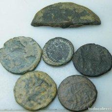 Monedas Imperio Romano: LOTE DE 5 MONEDAS ROMANAS Y MEDIA. Lote 150669294