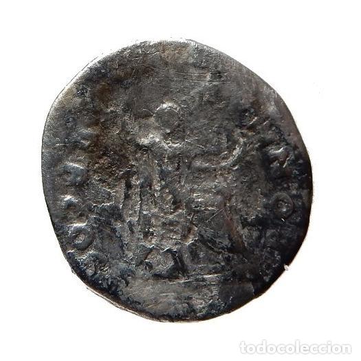 Monedas Imperio Romano: Vespasiano (69-79 A.D.) denario Roma. PON MAX TR P COS V. - Foto 2 - 150945053