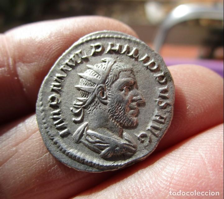 Roman Empire Coins: FILIPO I . ANTONINIANO SIN CIRCULAR - Foto 2 - 150945066