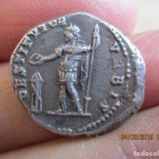 Monedas Imperio Romano: PRECIOSO DENARIO ANTONINUS PIUS CON LEGIONARIO Y ESTANDARTE. Lote 151093346