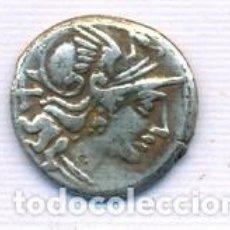 Monedas Imperio Romano: INTERESANTE DENARIO REPUBLICANO. Lote 151469386