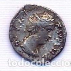Monedas Imperio Romano: BELLO DENARIO DE FAUSTINA MADRE. Lote 151469454
