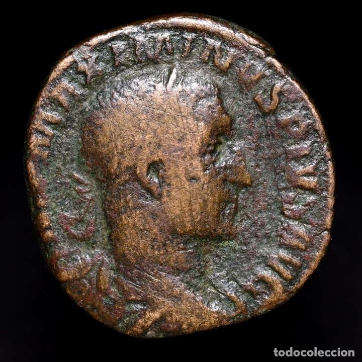 Monedas Imperio Romano: Maximino el Tracio (235-238 dC), sestercio. Roma. VICTORIA AVG S-C - Foto 2 - 152215280