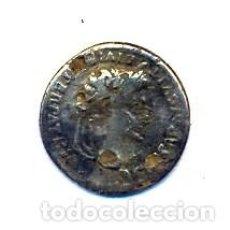 Monedas Imperio Romano: INTERESANTE DENARIO DE AUGUSTO FORRADO. Lote 152558414