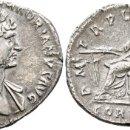 Monedas Imperio Romano: *** SELECCION *** BONITO DENARIO DE ADRIANO 117-138 D.C PLATA. BUSTO TONIFICADO.. Lote 153789758
