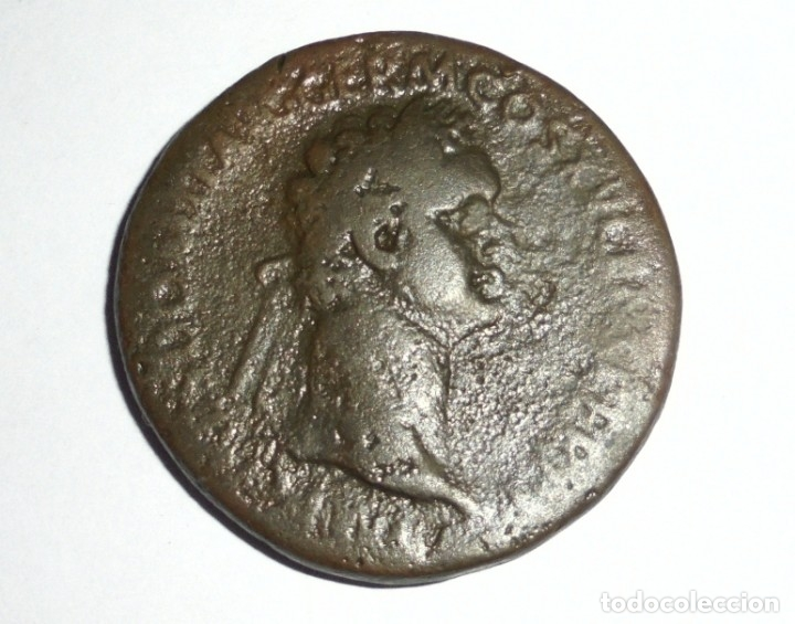 Monedas Imperio Romano: MONEDA. SESTERCIO. DOMICIANO. 21.4 GRAMOS. VER FOTOS - Foto 3 - 118982927