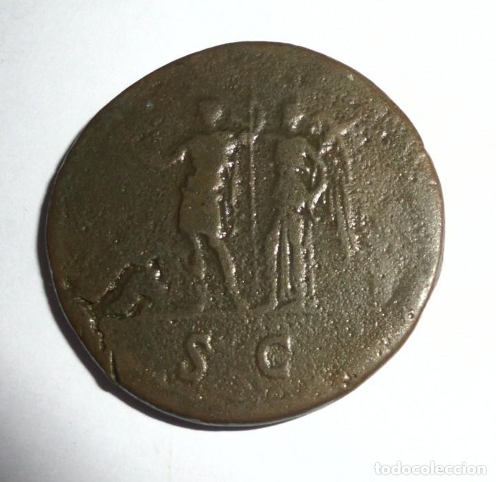 Monedas Imperio Romano: MONEDA. SESTERCIO. DOMICIANO. 21.4 GRAMOS. VER FOTOS - Foto 5 - 118982927