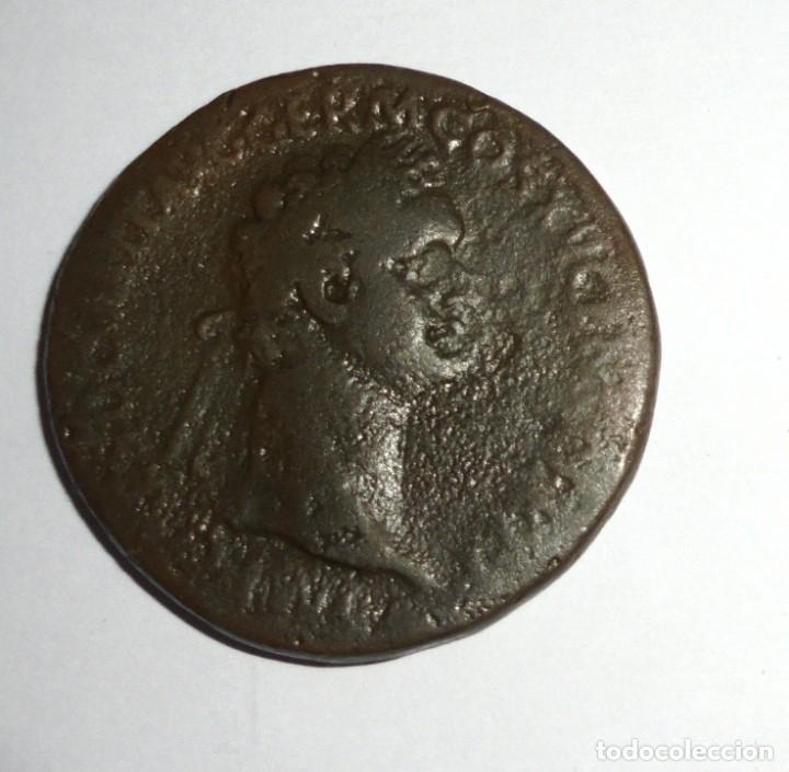Monedas Imperio Romano: MONEDA. SESTERCIO. DOMICIANO. 21.4 GRAMOS. VER FOTOS - Foto 4 - 118982927