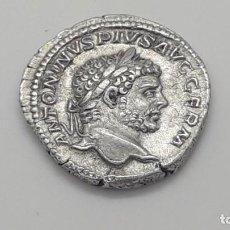 Monedas Imperio Romano: IMPERIO ROMANO.- DENARIO DE CARACALLA. ESPECTACULAR ESTADO . Lote 154754954