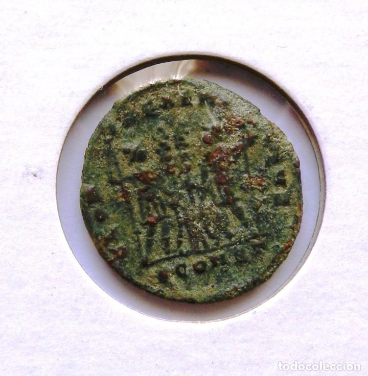Monedas Imperio Romano: Flavius Valerius Aurelius Constantinus 1/2 centenional - Foto 2 - 48416311