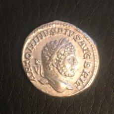 Monedas Imperio Romano: DENARIO IMPERIO ROMA. CARACALLA 212 D.C (AUTÉNTICO)EBC-. Lote 156238301