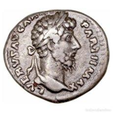 Monedas Imperio Romano: IMPERIO ROMANO. LUCIO VERO. DENARIO PAX. Lote 156330598