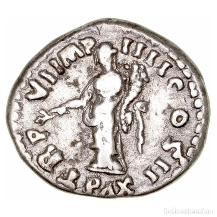 Monedas Imperio Romano: IMPERIO ROMANO. LUCIO VERO. DENARIO PAX - Foto 2 - 156330598