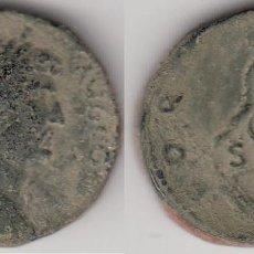 Monedas Imperio Romano: MONEDA DE ADRIANO. SESTERCIO. FORTVNA AVG. ROMA. Lote 156955814