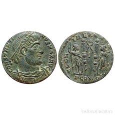 Monedas Imperio Romano: CONSTANTINO I, FOLLIS. ARLES. GLORIA EXERCITVS//PCONST/GUIRNALDA.. Lote 158519706