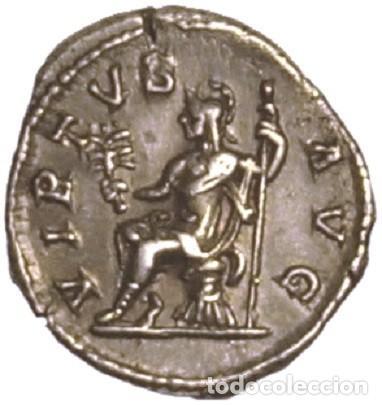 IMPERIO ROMANO. ALEJANDRO SEVERO. DENARIO. VIRTUS (Numismática - Periodo Antiguo - Roma Imperio)
