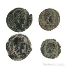 Monedas Imperio Romano: LOTE DE 4 MONEDAS ROMANAS.. Lote 160057450