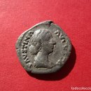 Monedas Imperio Romano: FAUSTINA HIJA . BONITO DENARIO ROMANO. Lote 160089862