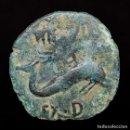Monedas Imperio Romano: CARTEIA (SAN ROQUE, CÁDIZ),SEMIS DE BRONCE 80-30 A.C.. Lote 161120772