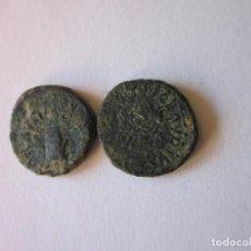 Monedas Imperio Romano: 2 CUADRANTES DE CLAUDIO. MODIO Y BALANZA.. Lote 161472022
