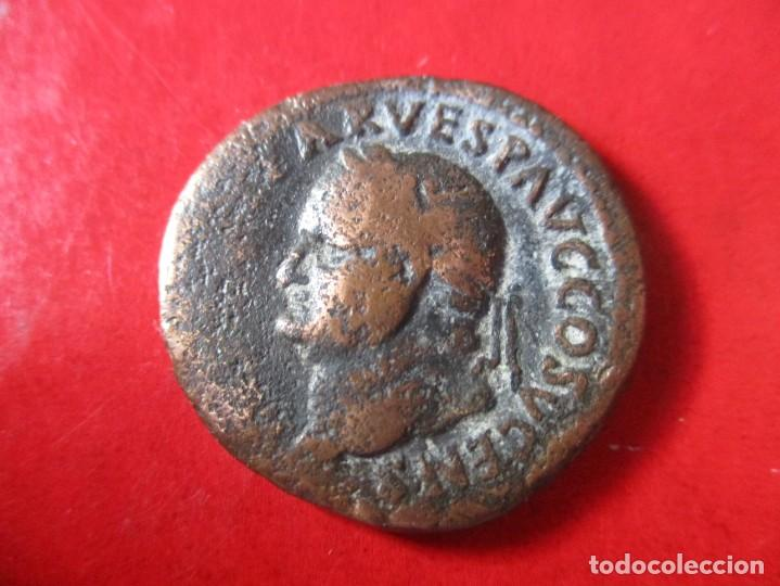 Imperio Romano. Vespasiano. As Del Año 69/79 Dc