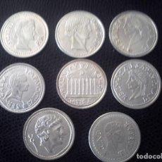 Monedas Imperio Romano: REPRODUCCION DE OCHO DENARIOS DE PLATA. ROMA.. Lote 164156238
