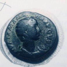 Monedas Imperio Romano: 20,72 GRS GR PRECIOSO SESTERCIO DE IULIA MAMAEA MBC+ MBC+ RARO PRECIOSO SESTERCIO. Lote 164282910