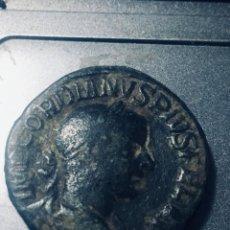 Monedas Imperio Romano: 17,41 GRS PRECIOSO SESTERCIO DE GORDIANO PIUS MBC+ MBC+. Lote 164295178