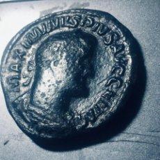 Monedas Imperio Romano: 20,46 GRS PRECIOSO SESTERCIO DE MAXIMINO PIUS MBC+ MBC+. Lote 164297614
