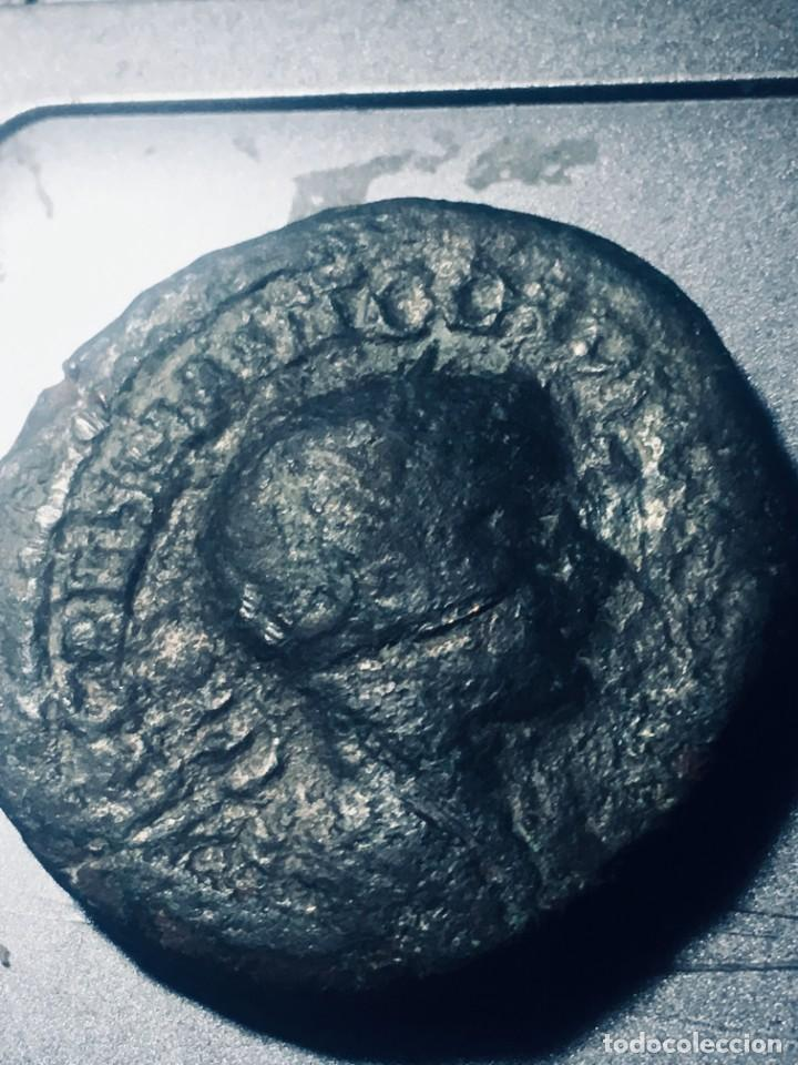 22,84 GRS PRECIOSO SESTERCIO DE GORDIANO I MBC+ MBC+ GRAM SEXTERCIO (Numismática - Periodo Antiguo - Roma Imperio)
