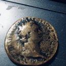 Monedas Imperio Romano: 20,57 GRS PRECIOSO SESTERCIO DE TRAJANO MBC MBC GRAM SEXTERCIO-. Lote 164606270