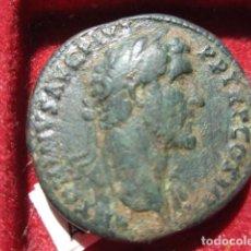 Monedas Imperio Romano: MONEDA DE UN SEXTERCIO DE ANTONINO PIO (138-161 D.C) BUEN ANVERSO. Lote 165490458