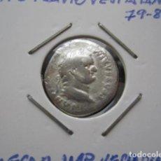 Monedas Imperio Romano: DENARIO DE TITO (79-81 D.C). Lote 165677498