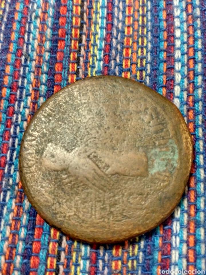 Monedas Imperio Romano: RARO SESTERCIO DE NERVA (96-98 DC) REVERSO: MANOS ENTRELAZADAS - Foto 2 - 166190177