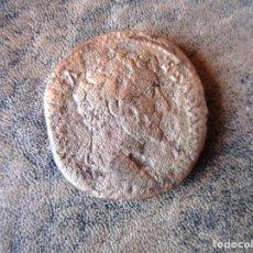 Monedas Imperio Romano: ANTIGUA MONEDA ROMANA DE BRONCE 26 GRAMOS. Lote 166205502