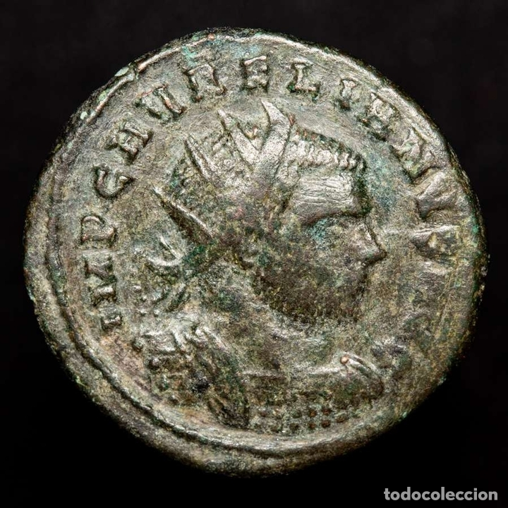 AURELIANO, 270-275 DC ANTONINIANO, CIZICO, RESTITVTOR ORBIS // *H (Numismática - Periodo Antiguo - Roma Imperio)