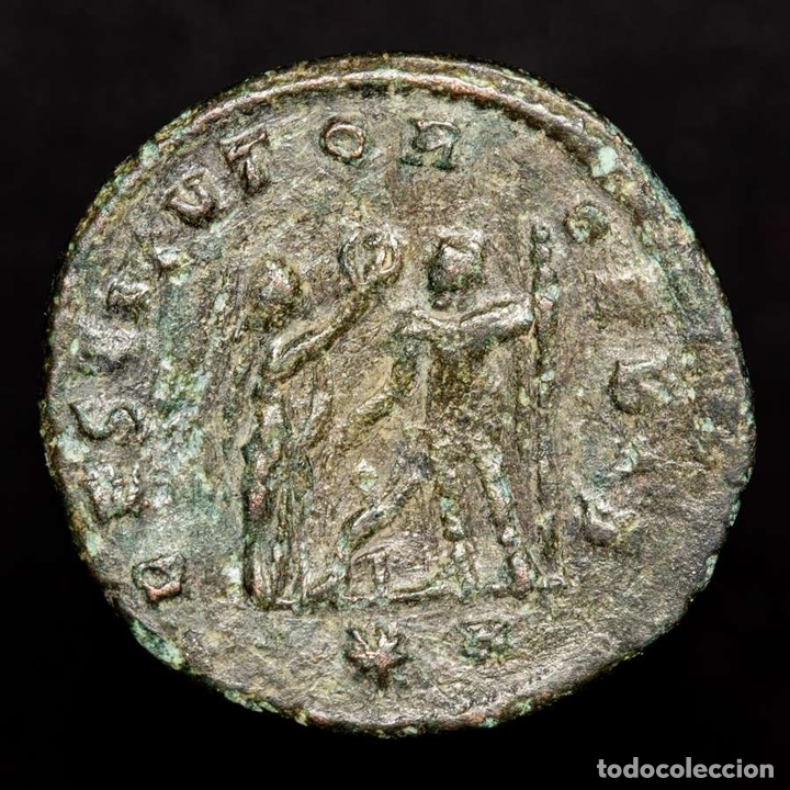 Monedas Imperio Romano: Aureliano, 270-275 dC antoniniano, Cizico, RESTITVTOR ORBIS // *H - Foto 2 - 166486322