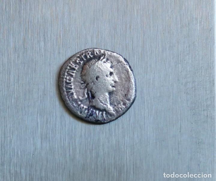 DENARIO DE PLATA 98-99 D.C. TRAIANO (Numismática - Periodo Antiguo - Roma Imperio)