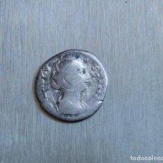 Monedas Imperio Romano: DENARIO DE PLATA 141-161 D.C. FAUSTINA MADRE. Lote 167043892