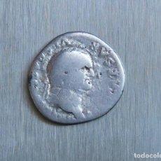 Monedas Imperio Romano: DENARIO DE PLATA 75 D.C. VESPASIANO. Lote 167045140