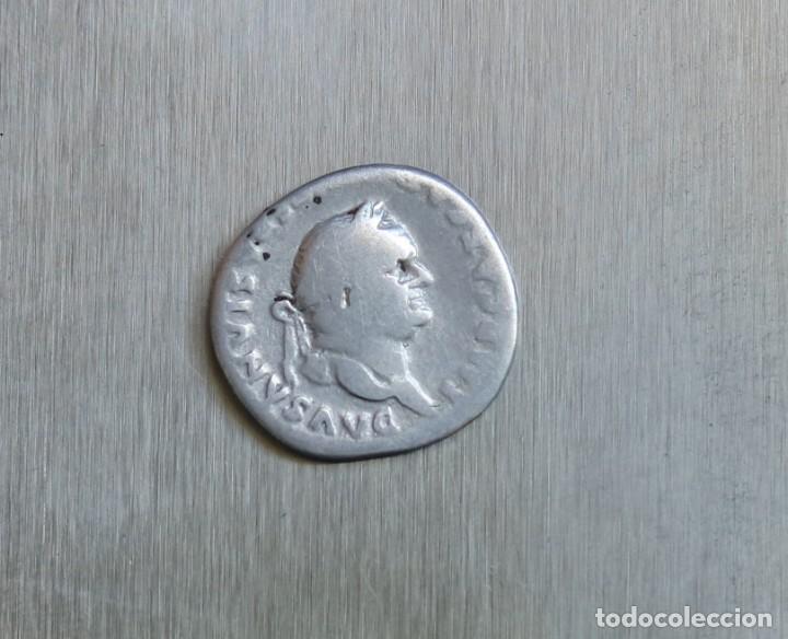 DENARIO DE PLATA 75 D.C. VESPASIANO (Numismática - Periodo Antiguo - Roma Imperio)