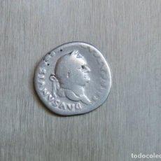 Monedas Imperio Romano: DENARIO DE PLATA 75 D.C. VESPASIANO. Lote 167045356