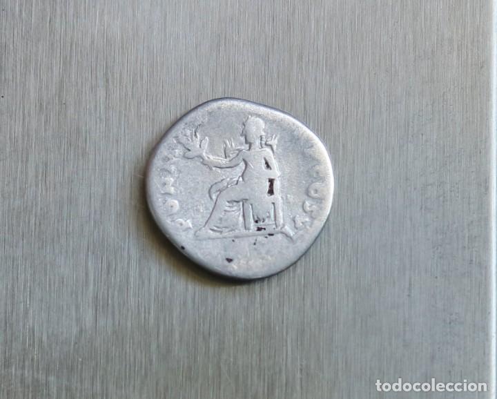 Monedas Imperio Romano: DENARIO DE PLATA 75 D.C. VESPASIANO - Foto 2 - 167045356