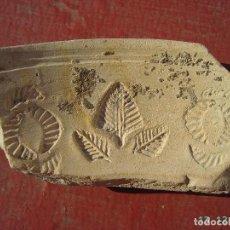 Monedas Imperio Romano: GRAN FRAGMENTO DE MOLDE DE TERRA SIGILLATA HISPANICA.. Lote 170018196
