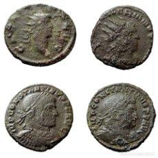 Moedas Império Romano: CONJUNTO DE 4 MONEDAS ROMANAS. A65-M. Lote 170381040