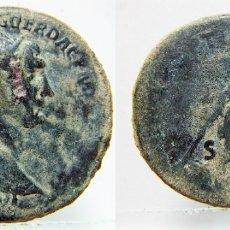Monedas Imperio Romano: BONITO DUPONDIO DEL EMPERADOR TRAJANO. Lote 171529563