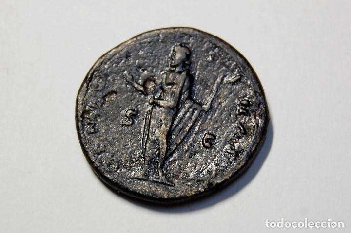 Monedas Imperio Romano: DUPONDIO ROMANO DEL EMPERADOR ANTONINO PIO.EXTRAORDINARIO ESTADO - Foto 2 - 172017993