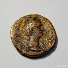 Monedas Imperio Romano: DUPONDIO ROMANO DE FAUSTINA MAJOR.MUY BUEN ESTADO DE CONSERVACION.. Lote 172018218